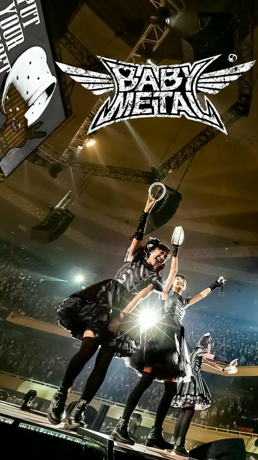 ベビーメタル Babymetal 壁紙 ベビメタ モアメタル