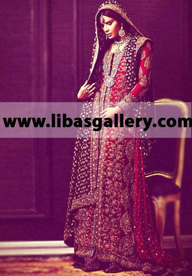Sana Safinaz Bridal Wear Pakistani Bridal Dresses Designer Bridal ...