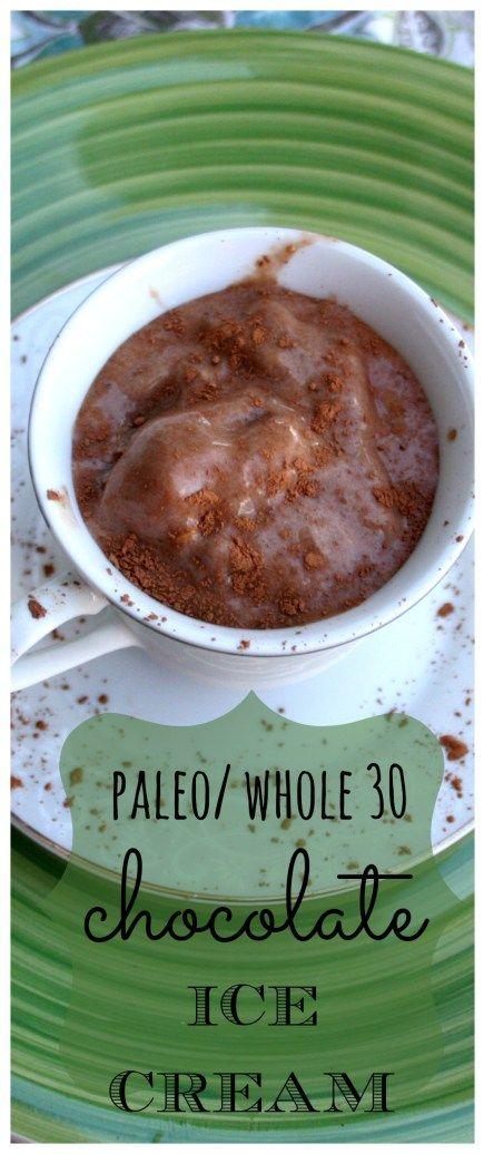 This paleowhole 30 chocolate ice cream will fill your craving for a sweet, creamy treat!