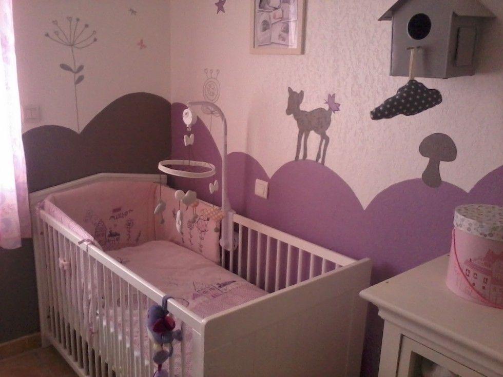 chambre bébé mauve Déco Brico Pinterest Nursery, Kids rooms - stickers chambre bebe garcon pas cher