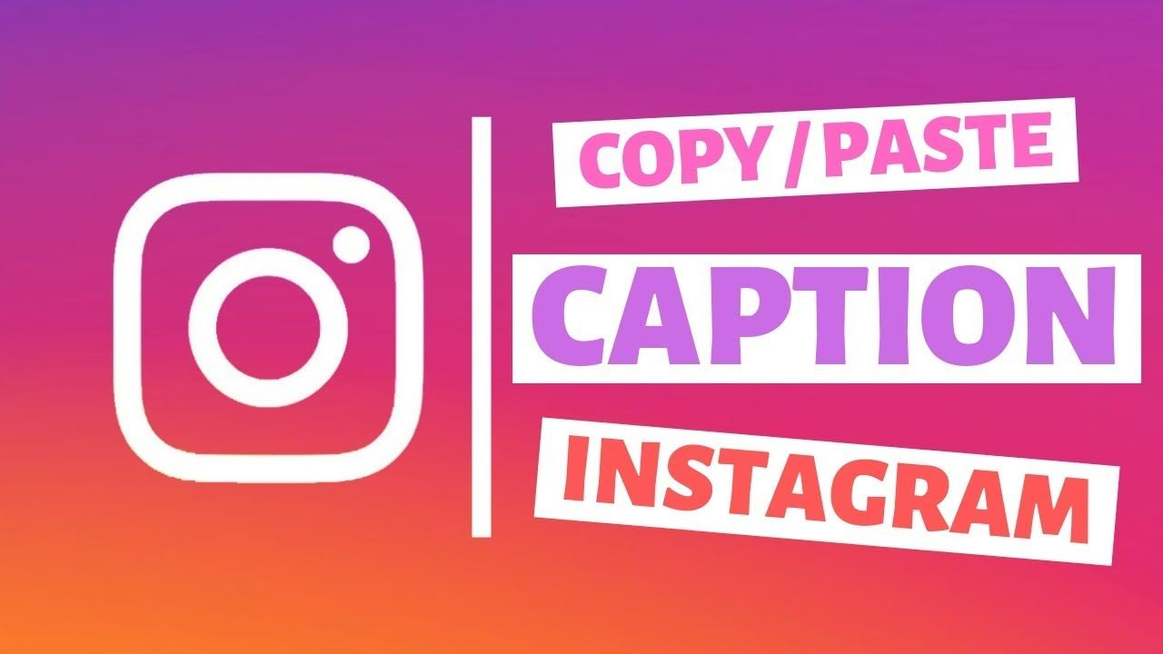 Cara Copy Caption Instagram Tanpa Aplikasi Caption Science Instagram