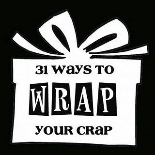 Tired of bags and tissue paper? Use things laying around your house to make beautiful wrapped gifts!