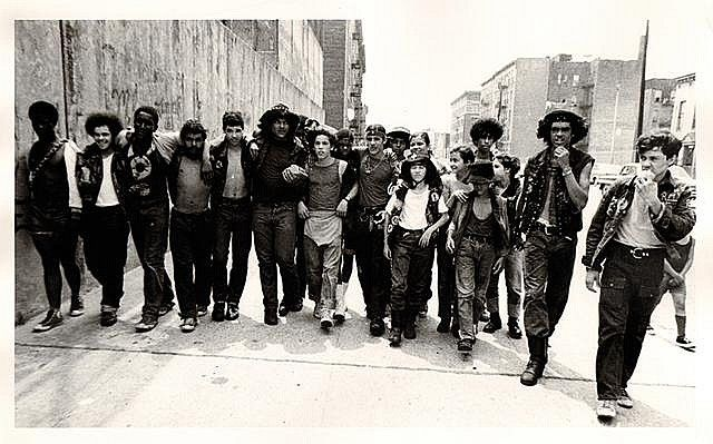 """Street gang in the Bronx,NY- 1970, The """"Savage Skulls"""