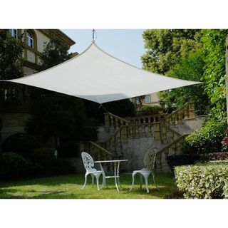 This Cool Area shade sail is a stylish and effective shade solution that fit most outdoor living space. You can creatively design your own little shady area in a courtyard, pool, gardens, childrens' p