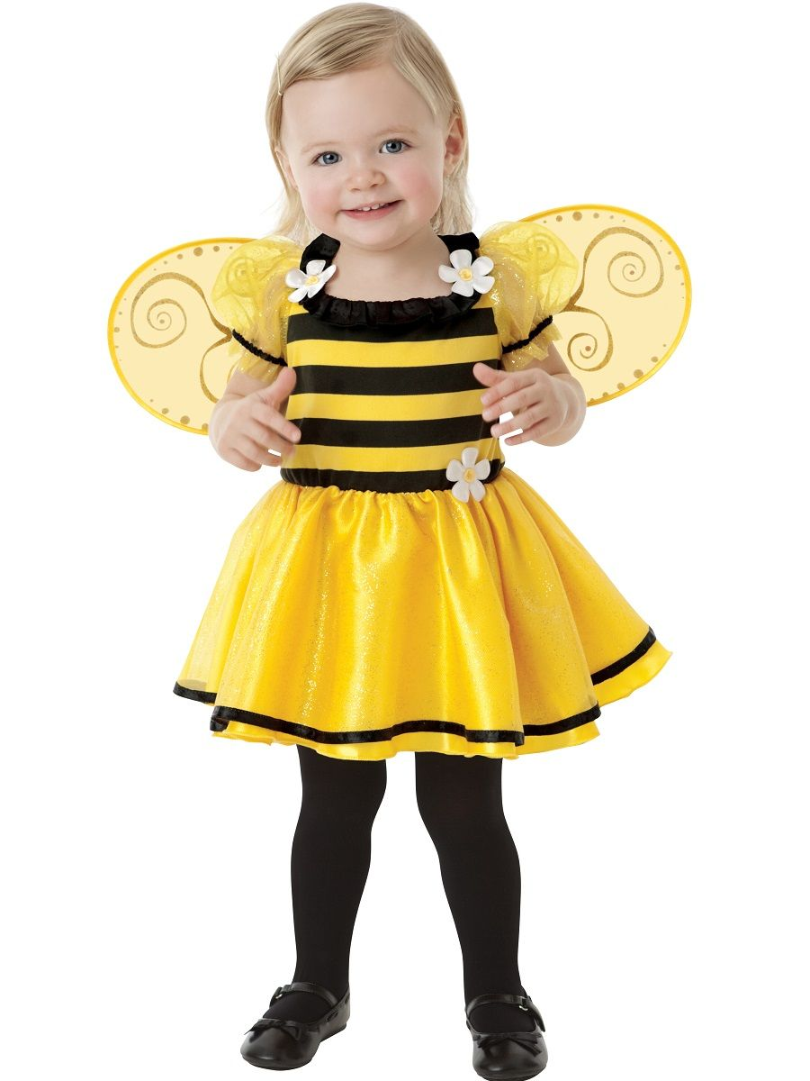 DIY Bee Costume (Big Kid Tee into Toddler Tee | Costumes and Bees