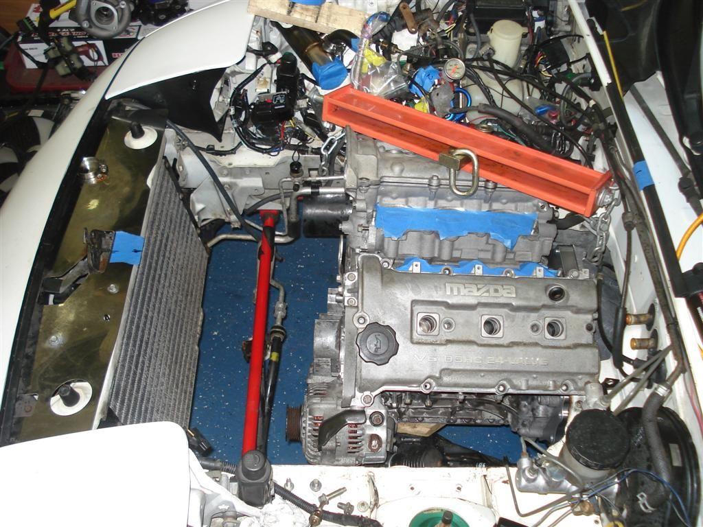 Kl Mazda V6 Swap Thread Page 11 Mx 5 Miata Forum Banshee Mazda