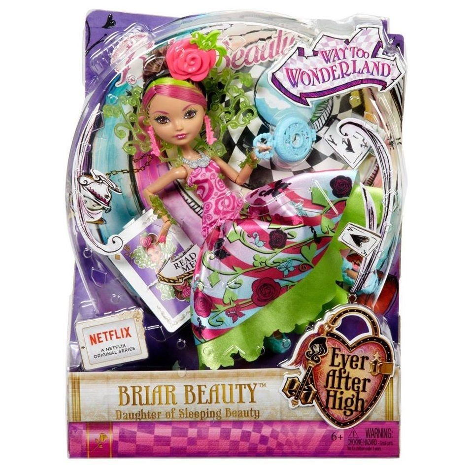 EVER AFTER HIGH Way Too Wonderland Briar Beauty NEW IN BOX