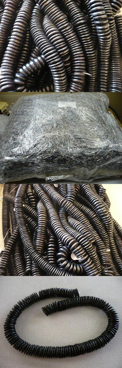 Wood 179274: Bulk Strands Black Coconut Shell Heishi 15Mm Disk Beads - (100) 16 Strands BUY IT NOW ONLY: $200.0