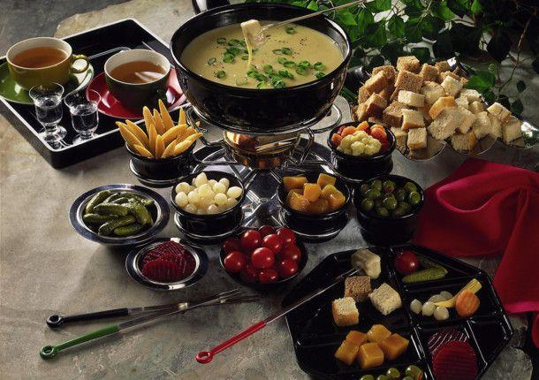 Schweizer käse fondue rezept fondue
