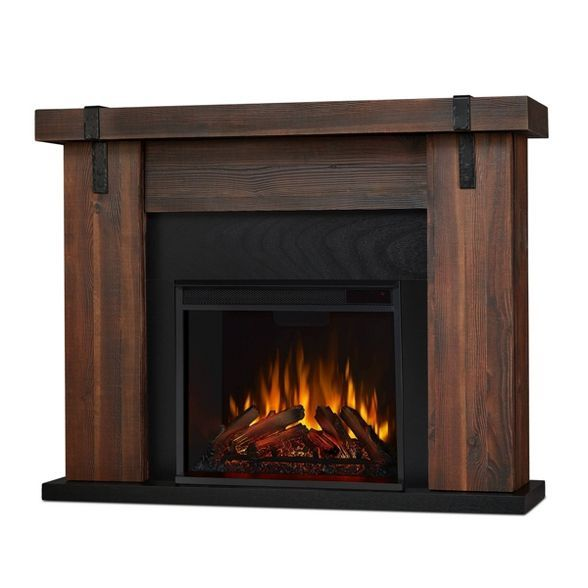 Real Flame Aspen Indoor Electric Fireplace Gray Indoor Electric Fireplace Electric Fireplace Real Flame