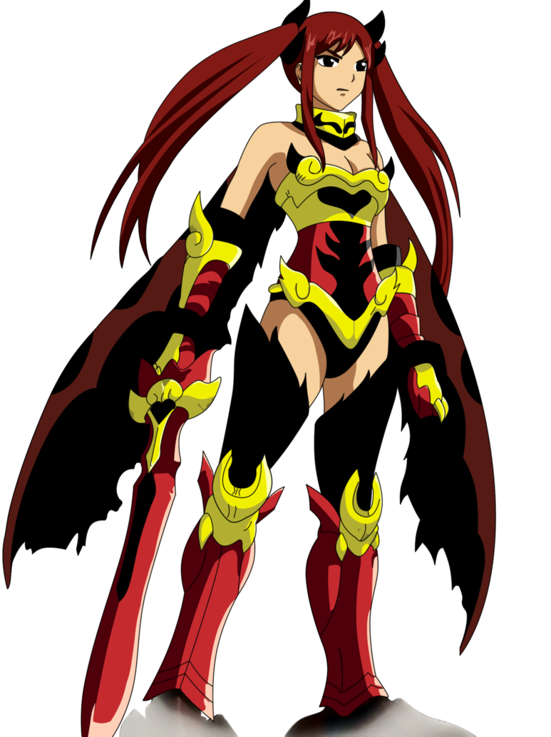 erza scarlet Flame Empress Arm: fairy tail by ice-do on DeviantArt
