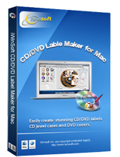 Mac CD/DVD Label Maker, Disc Label Software for Mac OS X