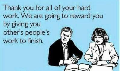 We need to reward you..
