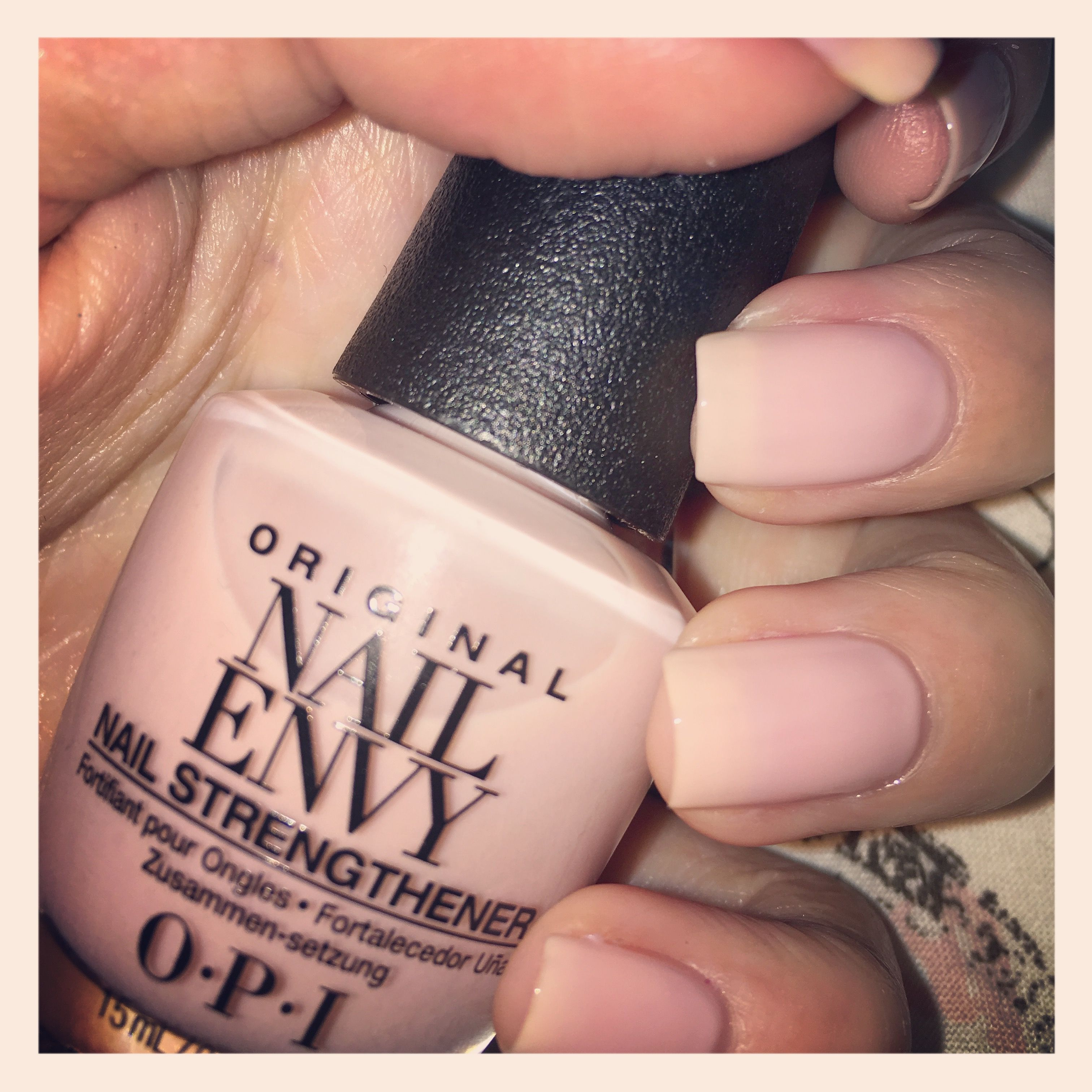 Bubble Bath OPI Nail Envy | My Nails | Pinterest | Opi nail envy ...