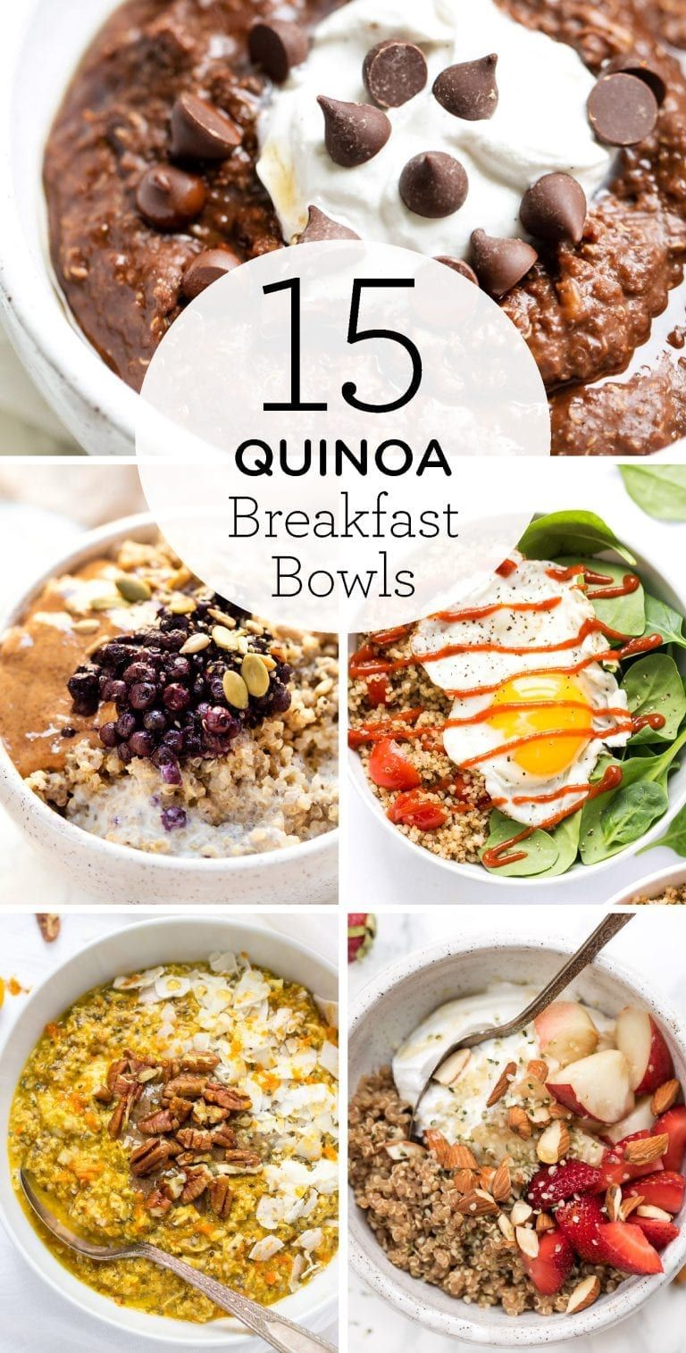 15 Best Quinoa Breakfast Bowls - Simply Quinoa