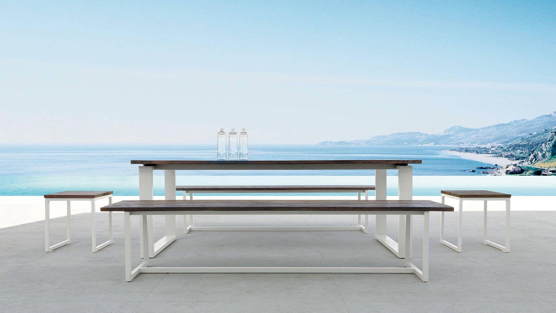 Talenti outdoor living tavolo e sgabelli essence talenti outdoor
