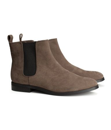 3913514aeee Chelsea Boots brunes | H&M | Life+Style = Lifestyle | Fashion boots ...