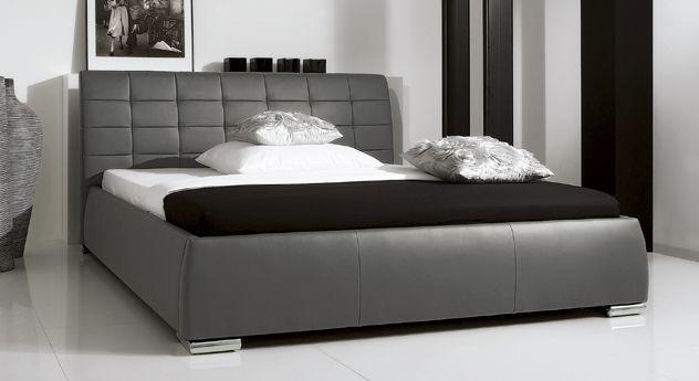 Bett Massa Comfort   Hier Finden Sie Ein Wunderschönes Polsterbett Mit  Gestepptem Kopfteil. Edles Design Trifft Hochwertige Materialien.