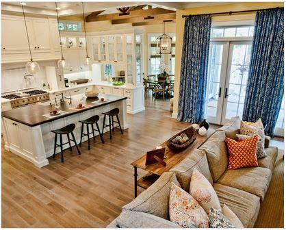 id e d co cuisine ouverte sur salon 6 deco pinterest cuisine ouverte sur salon cuisine. Black Bedroom Furniture Sets. Home Design Ideas