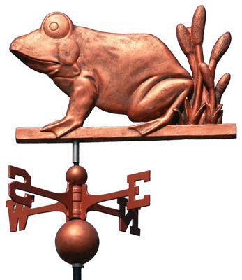 Frog Prince Weathervane