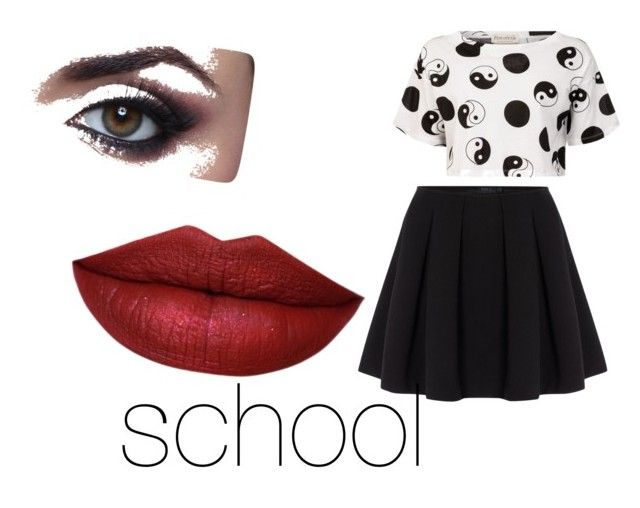 """""""school"""" by anna-calum on Polyvore featuring art"""