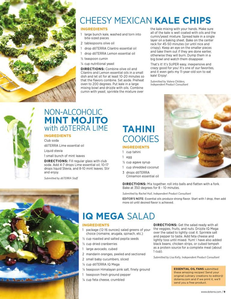 Want to try the mojito and the cookies doterra food recipes want to try the mojito and the cookies forumfinder Gallery