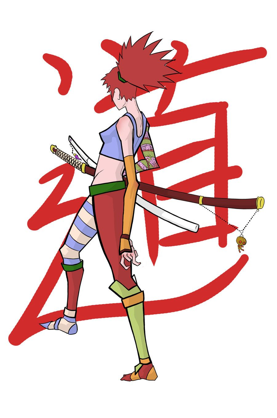 Samurai Girl- by ~Borjoize