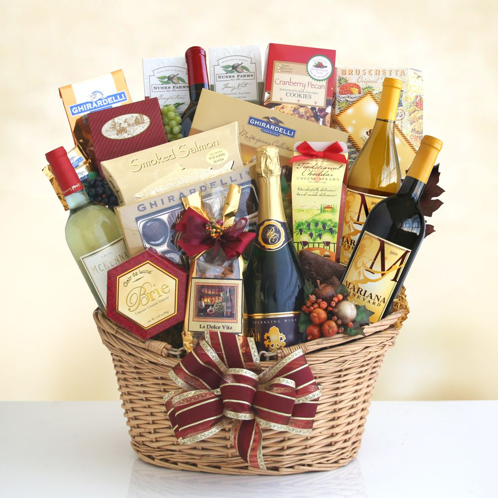 The Basket Of Your Dreams Filled To The Max With Delectable