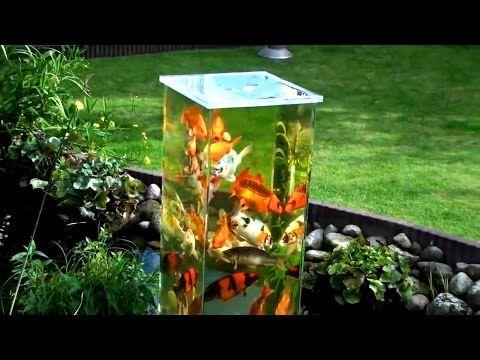 3 amazing above water fish tanks aquarium fishtank fish for Above water fish tank