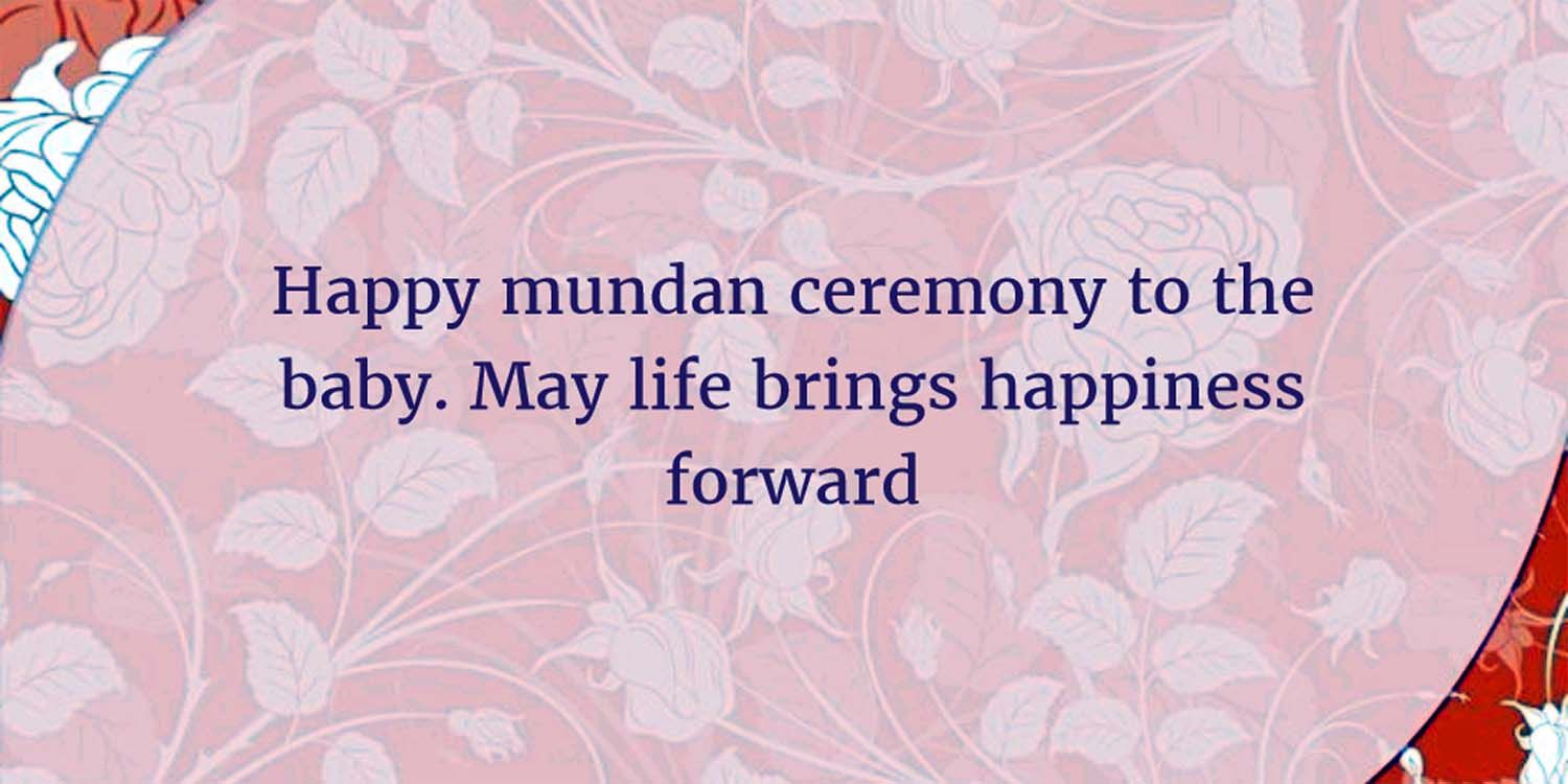 Happy Mundan Ceremony Messages Wishes Invitations Quotes in Hindi