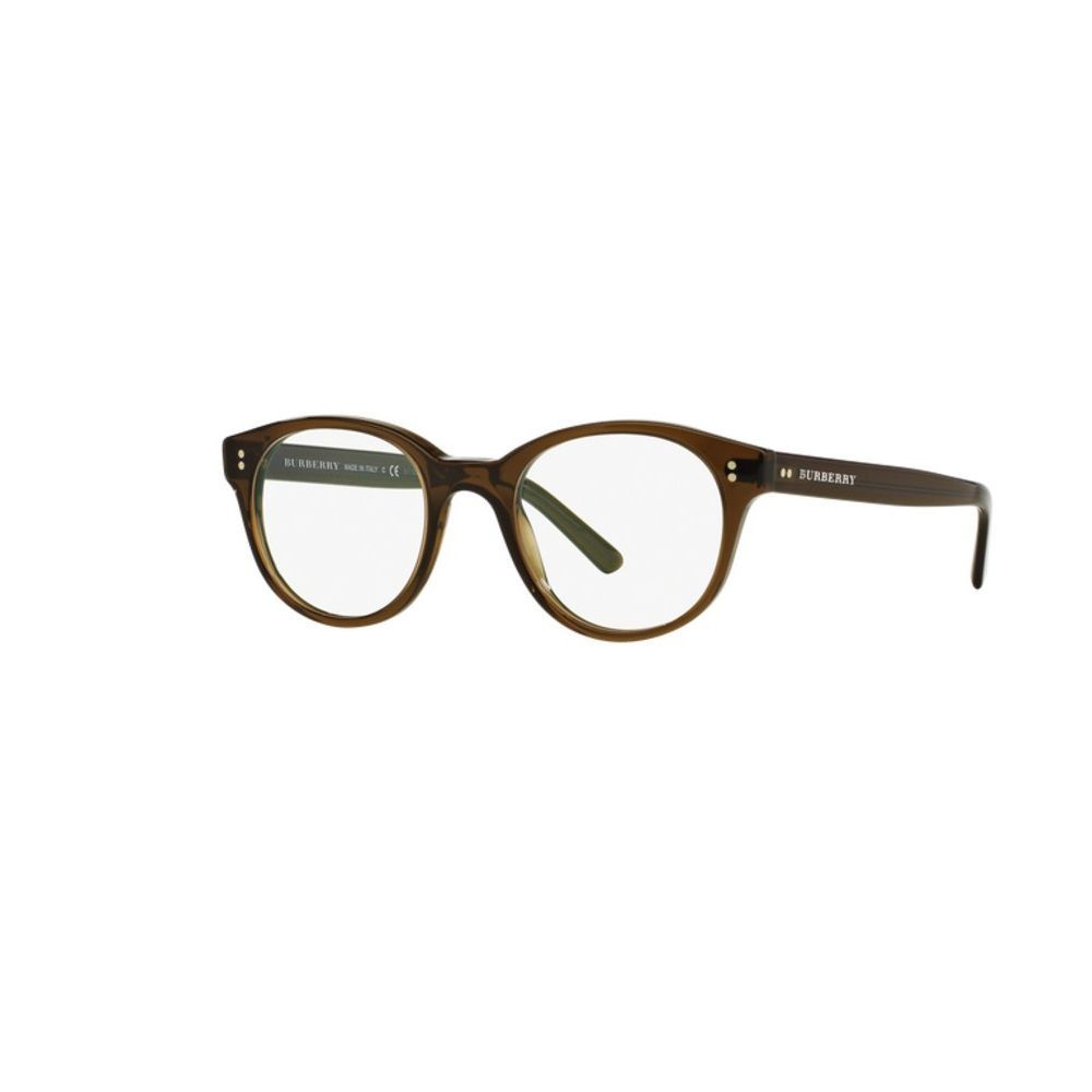 Burberry BE2194 3010 Olive Phantos Eyeglasses with 48mm Lens ...