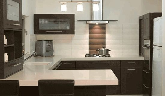 Perfect G-shaped kitchen Design For You | Cuisine | Pinterest ... on small galley kitchen remodel ideas, kitchen remodel design ideas, small l-shaped kitchen design ideas,