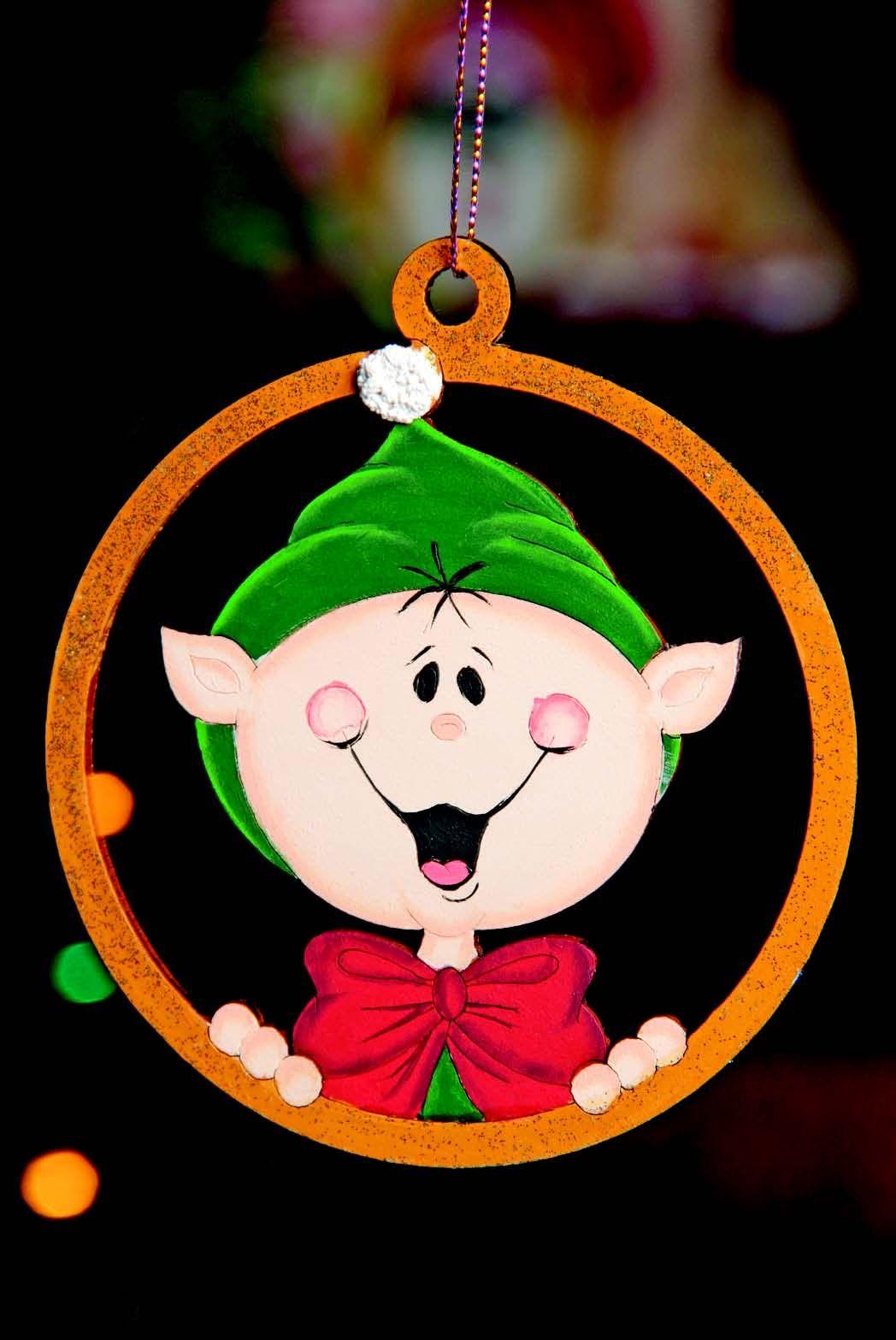 Esferas para arbol de navidad duende revista roel - Esferas de navidad ...