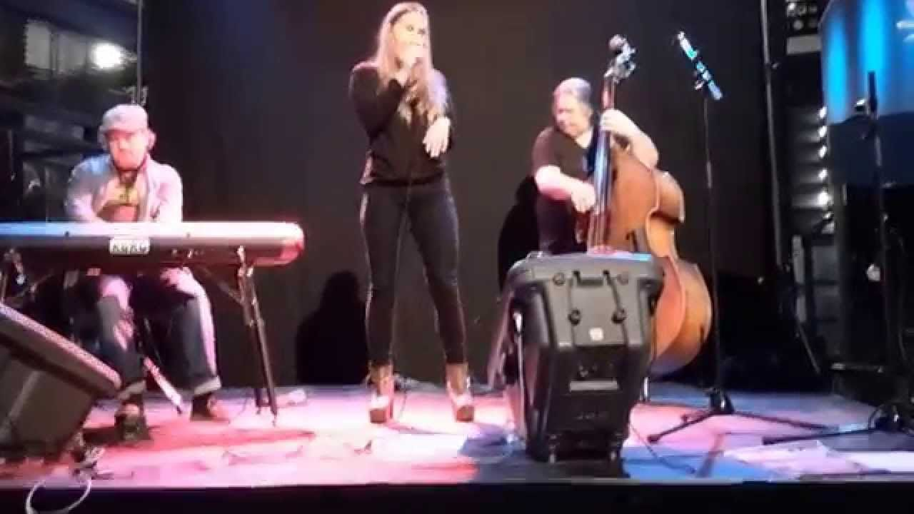 Sugar Baby performed by Cajsa Frangquist at Culturen Vasteras Sweden nov...