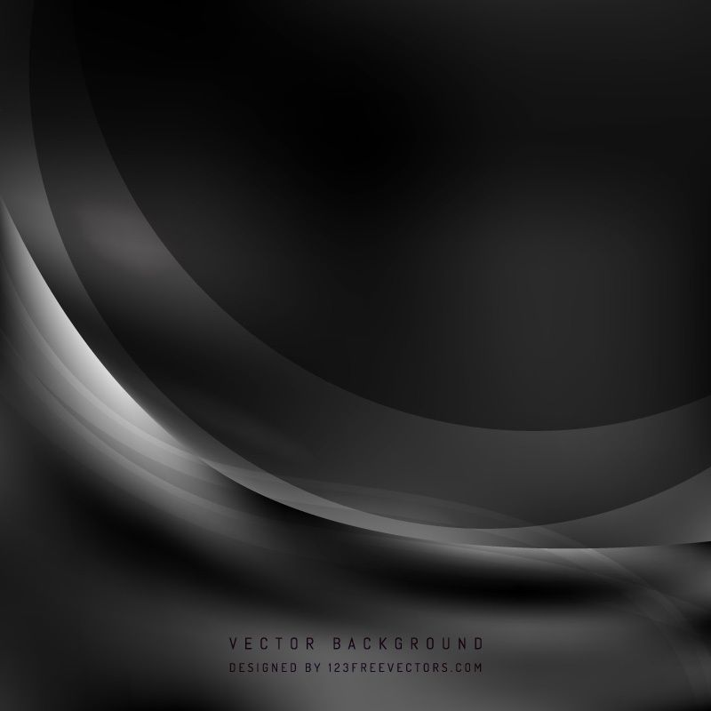 Abstract Black Wave Background Waves Background Cool