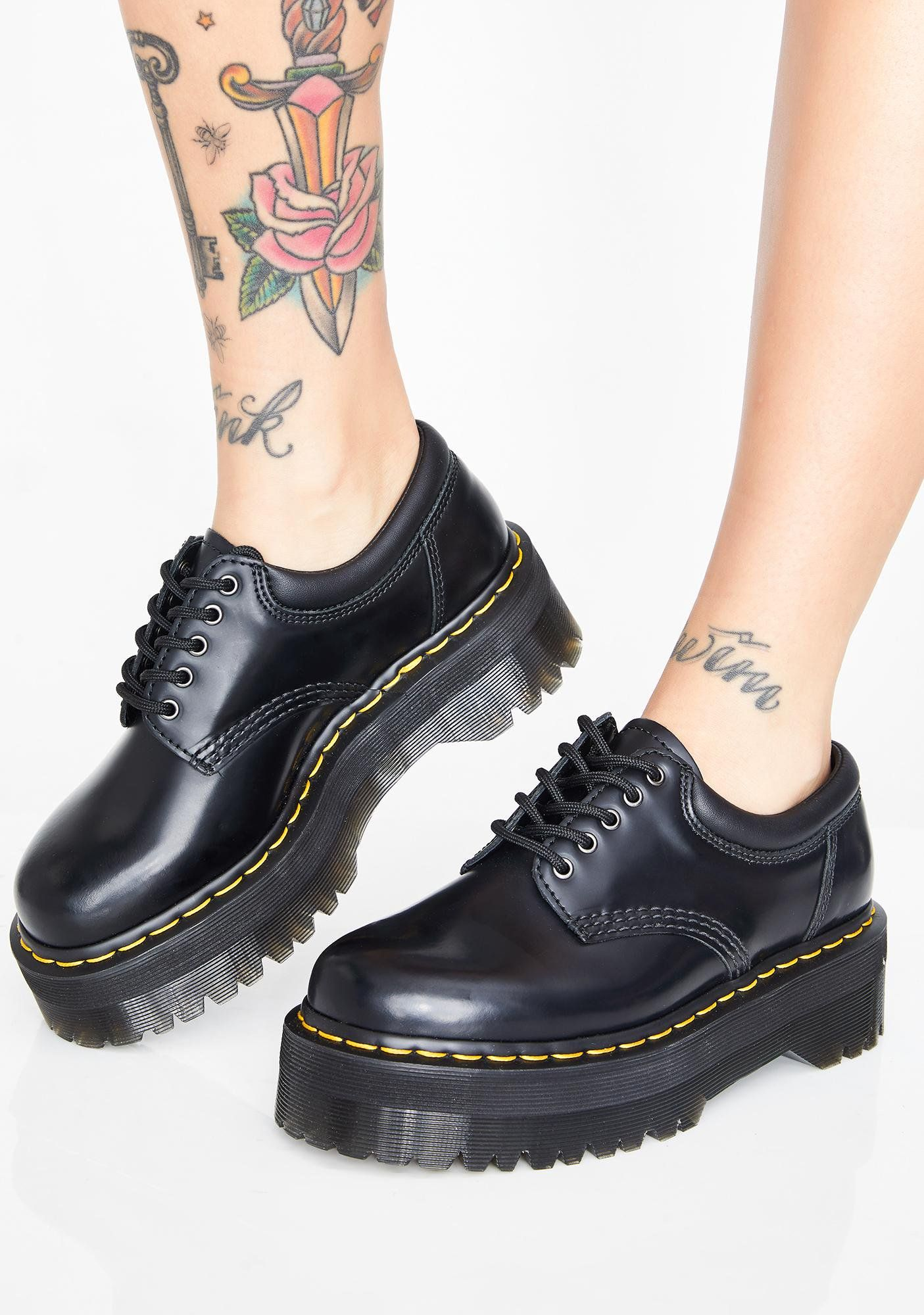 343b440599a 8053 Quad Oxfords in 2019 | Window Shopping | Boots, Studded boots ...