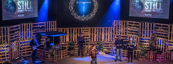 Church Stage Design Ideas | Tag Archive | pallets | Holidays and ...