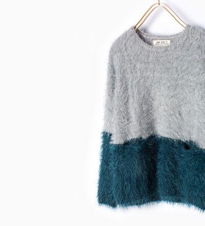 Imagen 3 de Jersey punto color de Zara