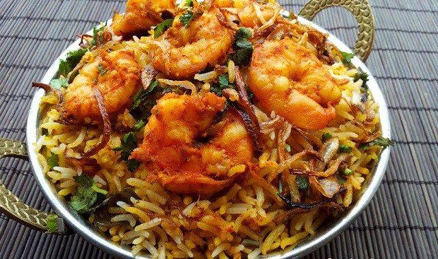 طريقة عمل كبسة ربيان سعودية طريقة Biryani Recipe Prawn Biryani Recipes Biryani