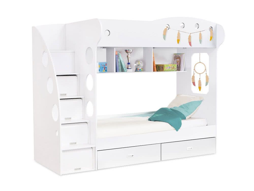 lit superpose combal avec rangements