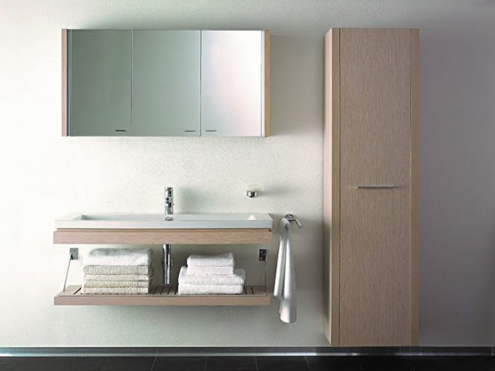 Simple but stunning design... The 2nd Floor range from Duravit ...