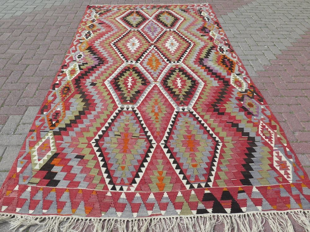 Anatolia Antique Turkish Antalya Nomads Kilim 68 5 X 123 6 Area Rug Carpet Rugs On Carpet Rugs Kilim
