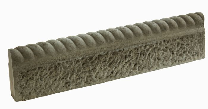 Rustic Full Rope Top Old Granite Lawn Edging  5 Pack (3m) is part of Rustic lawn Edging - This antique full rope top edging is the perfect border for a classic garden setting  Full rope designs are a classic style of lawn edging that keeps materials separate and tidy whilst offering a sleek finishing touch to your garden  The edging stands against the circumference of your lawn or flower bed to create a seamless, elegant border   Features Classic design  The antique rope design is a classic, simple lawn edging design that brings your lawn and flowerbeds alive Versatile  A classic rope design complements any area of a garden, including lawns, flowerbeds, ponds and gravelled patches Specifications Height  14½cm Individual Length  60cm Collective Length  3m Alternative Sizes and Packs Pack Quantity Price Total Length > Single Pack 60cm (23½in) > 2 Pack 1 2m (47¼in) > 5 Pack 3m (9¾ft) > 10 Pack 6m (19¾ft) > 20 Pack 12m (39¼ft)