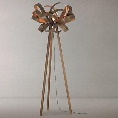 Tom Raffield Skipper Floor Lamp Walnut Affiliate Floor Lamp Lamp Flooring