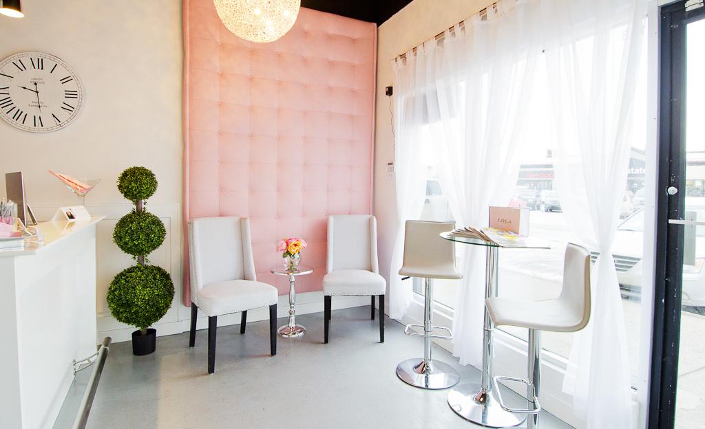 Cómo escoger los muebles de tu salón de uñas (com imagens ...