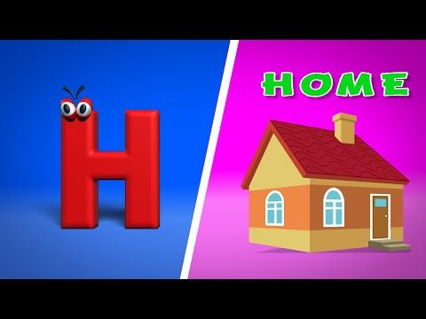 c7734f9c3e Phonics Letter- H song - YouTube | Hh | Phonics, Songs, Logos