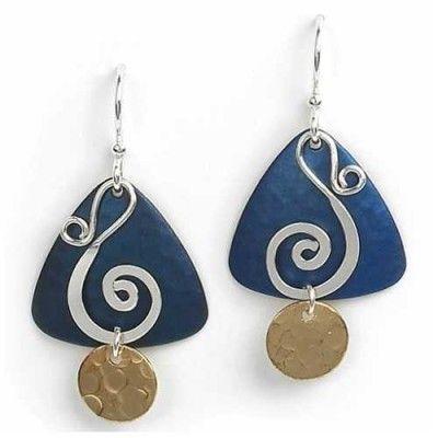 40f3b6a2e Jody Coyote Triangle Dangle Earrings | Jody Coyote Earrings ...