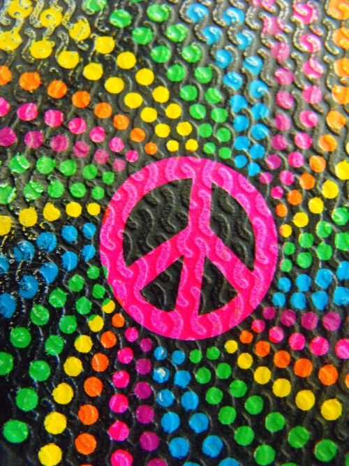 Colorful Peace Sign Peace Pinterest Peace And Love Peace Sign