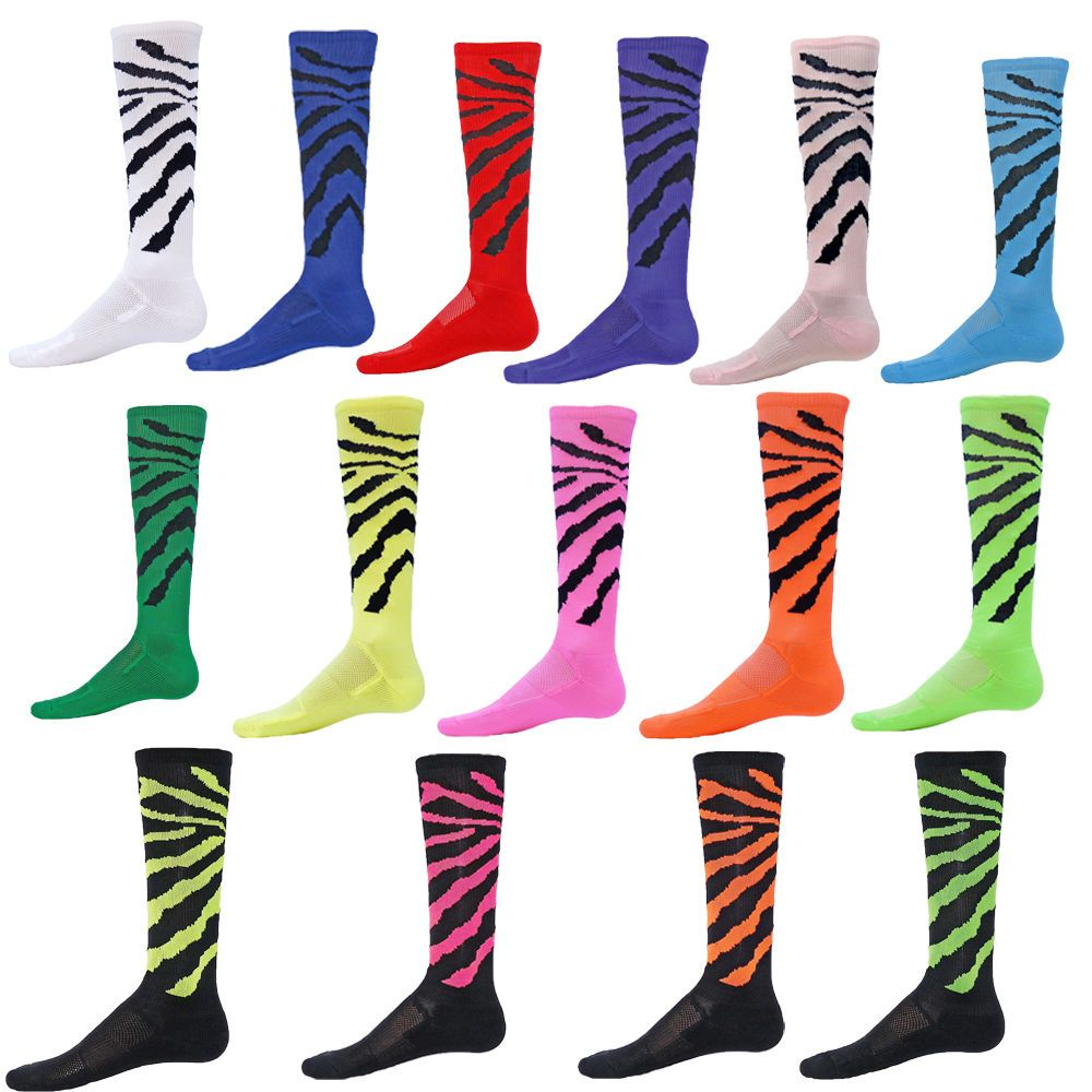 WILDCAT Performance Athletic Socks tiger stripe safari
