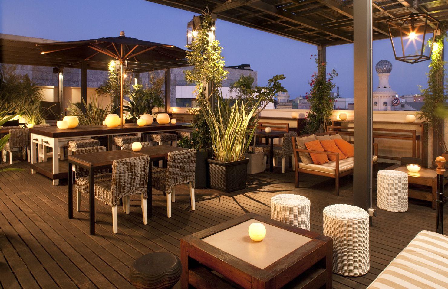 Hotel Pulitzer Barcelona Rooftop Terrace Terrazas